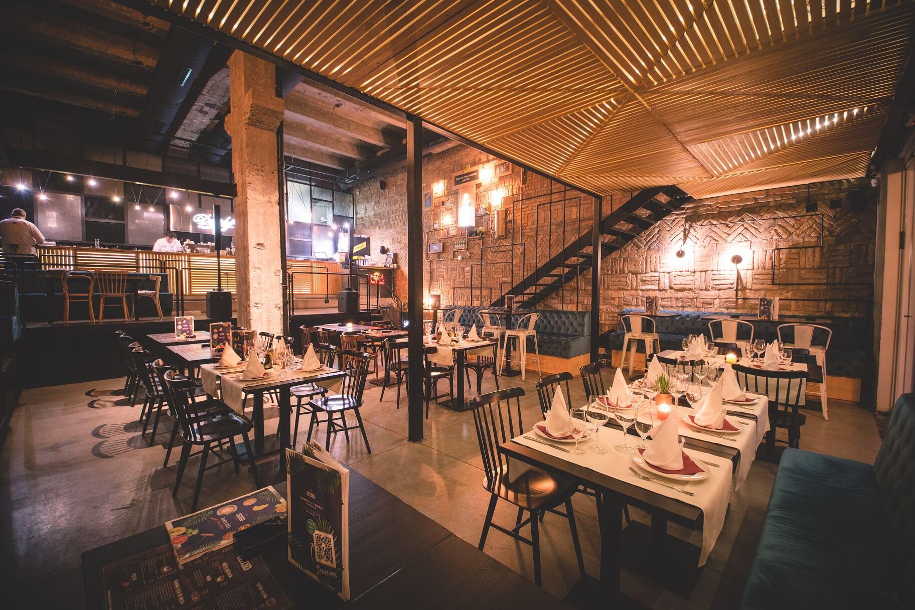 restoran magaza beton hala nova godina 2